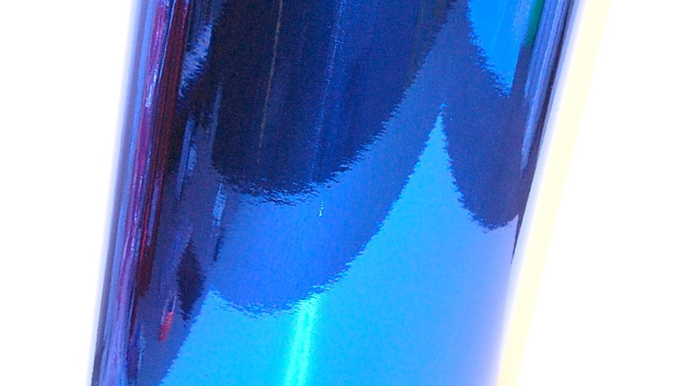 chrome mirror sign vinyl