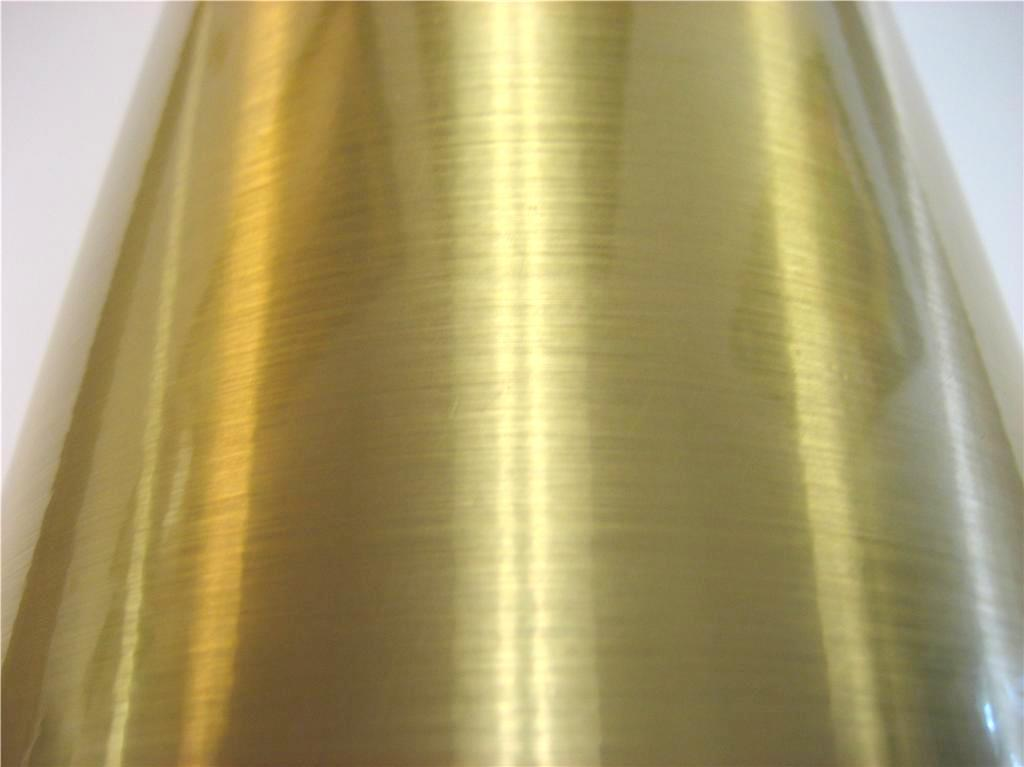 "24"" x 6 ft Brushed Gold"