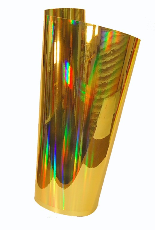 "24"" x 6 foot Gold Oil Slick"