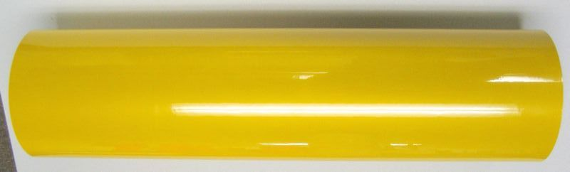"24"" x 6 foot Yellow Reflective Film"