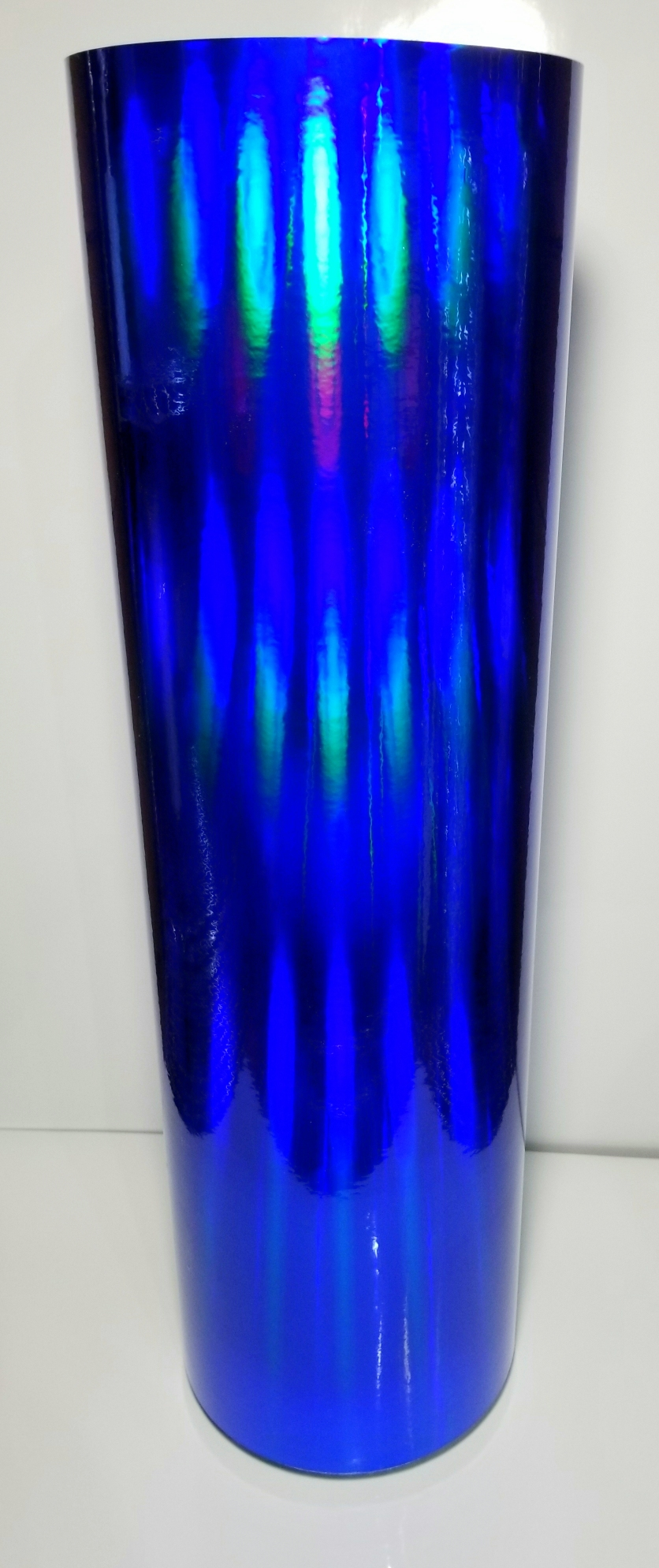 "24"" x 30 foot Royal Blue Oil Slick"