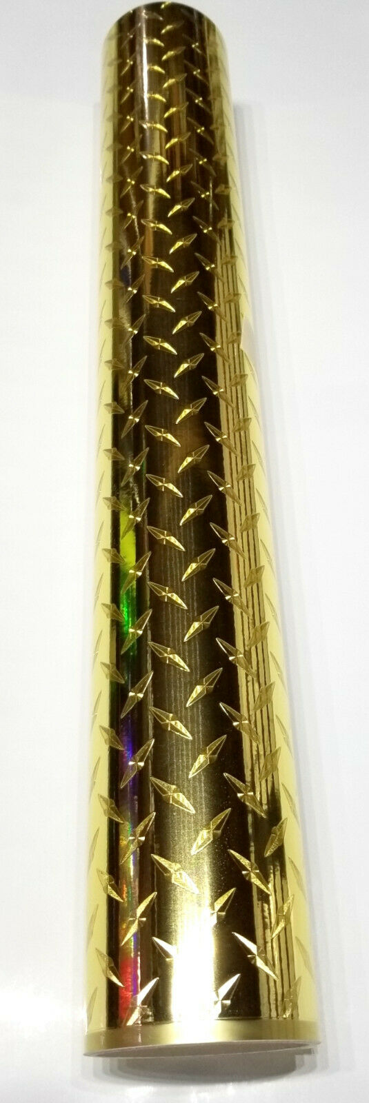 "24"" x 6 foot Gold Diamond Plate"