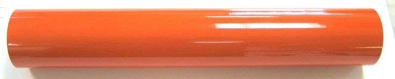 "24"" x 6 foot Orange Reflective Film"