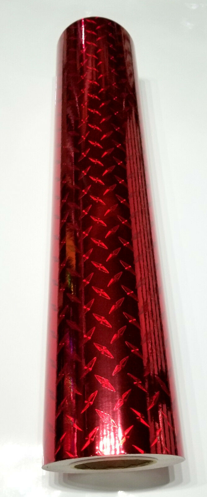 "24"" x 6 foot Cherry Red Diamond Plate"